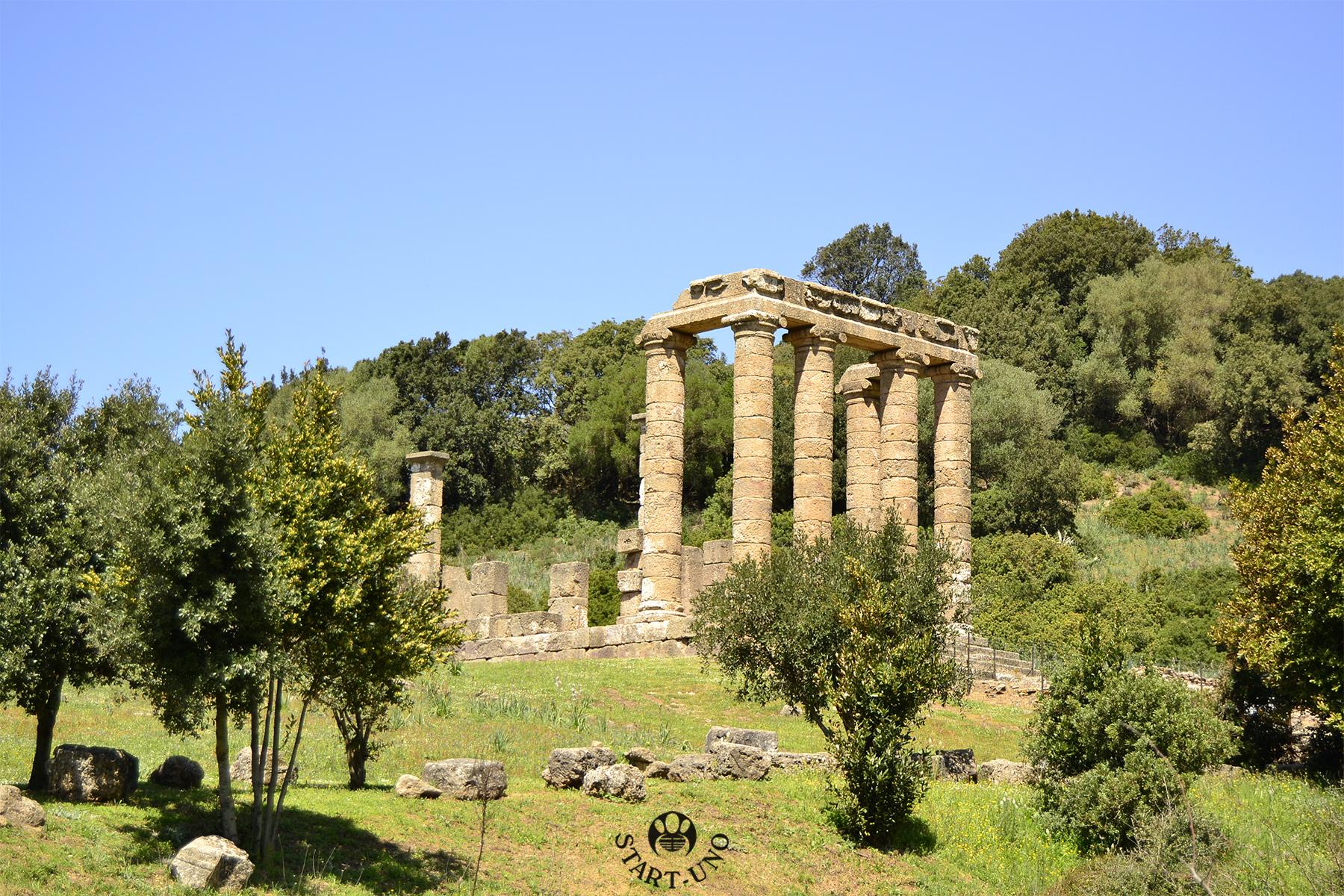 1_Antas_Tempio Romano statica